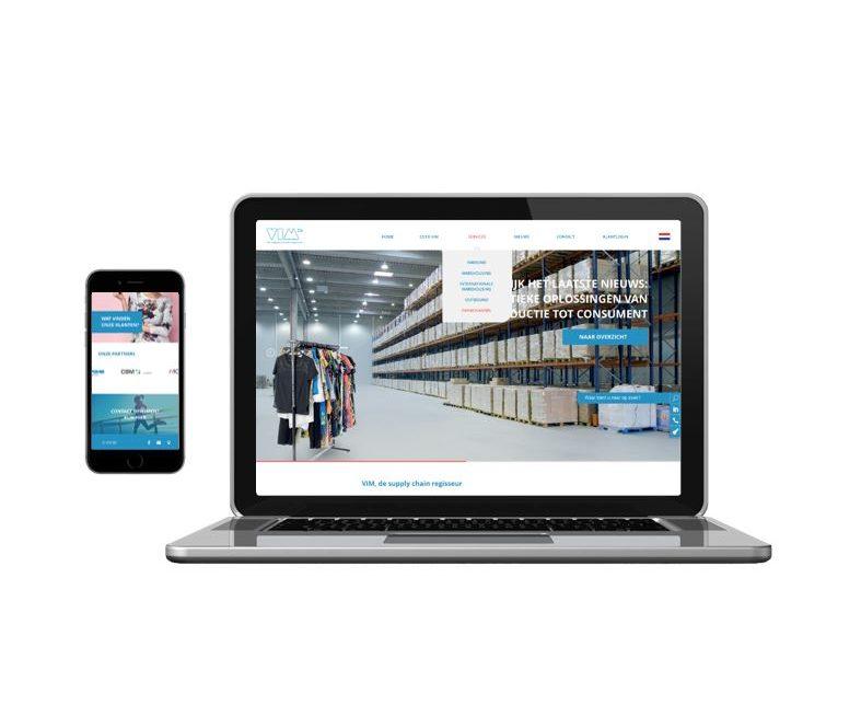 Nieuwe website VIM